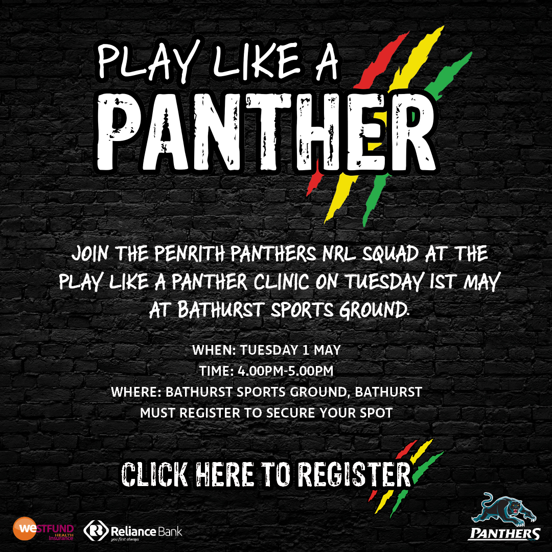 Play Like a Panther Bathurst 400px w x 400px h